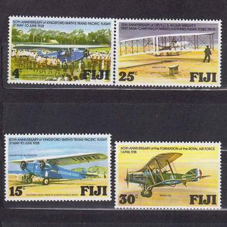 Авиация .   Фиджи 1978 г MNH -