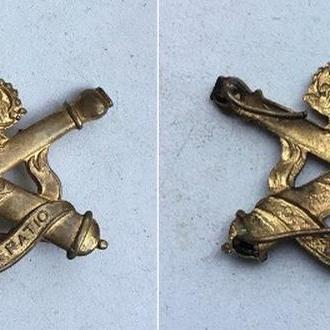 БЕЛЬГИЯ полковой знак ''Королевская артиллерия''