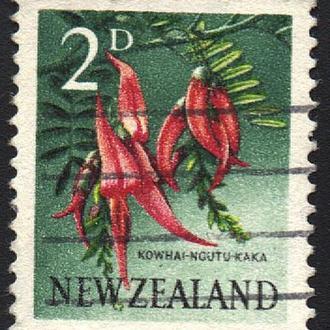 1960 - Новая Зеландия - Стандарт - Флора 2 Mi.394