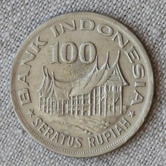 Индонезия 100 рупий 1978 (Forestry for prosperity)