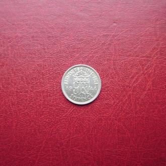 Великобритания 6 пенсов 1944