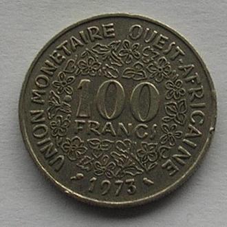 Западная Африка 100 франков 1973