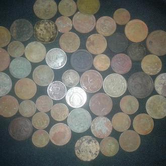 2 копейки 1924 и еще 52 монеты СССР до реформы