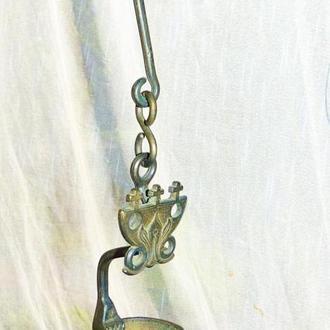 Масляная лампа  - бронза - Германия