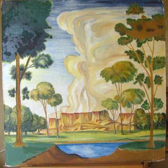 """Картина """"Киммерия."""", копия с картины К.Ф.Богаевского"""
