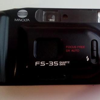 Фотоаппарат пленочный Minolta FS-35