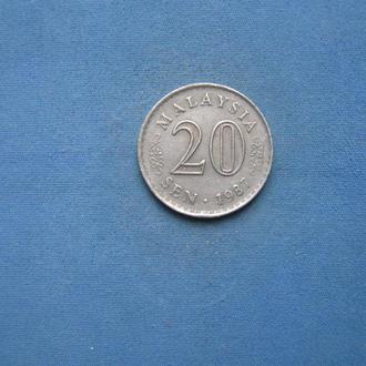 Малайзия 20 сен 1987 год