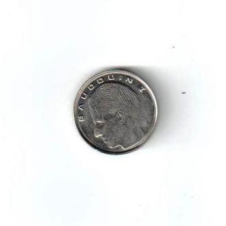 1 франк Бельгия 1989 год