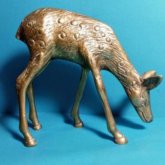 Скульптура Оленёнок _ бронза