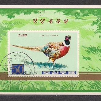 КНДР,1976г., фауна, птицы