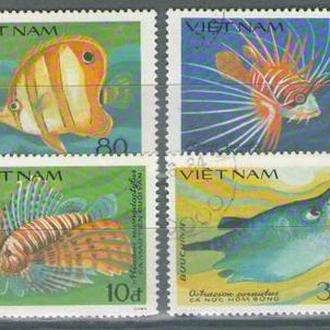 Вьетнам 1984 рыбы