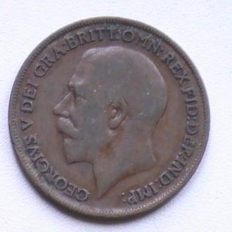 1 Пенни 1920 г Великобритания 1 Пенні 1920 р Великобританія
