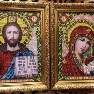 Венчальная пара (иконы ручной работы)