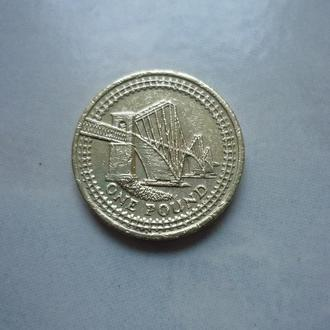 Великобритания 1 фунт 2004