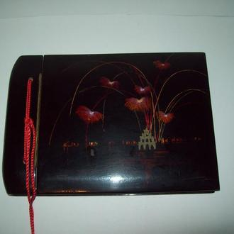 Альбом для фотографий фотоальбом про-во Вьетнам чёрный лак дерево