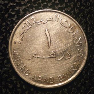 Объединённые Арабские Эмираты 1 дирхам 2007 немагн