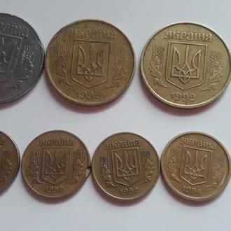 Монеты 1992-1994