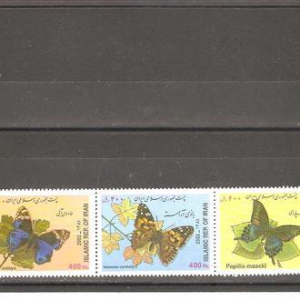 Фауна  Иран  2002г.  MNH  (см. опис.)