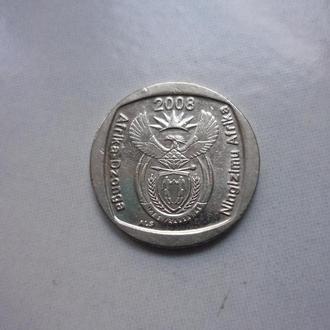 ЮАР 1 рэнд 2008 фауна