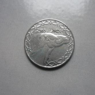 Алжир 2 динара 2003 фауна