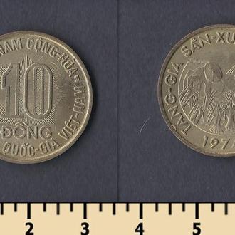 Южный Вьетнам 10 донг 1974