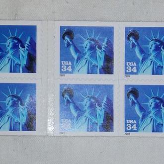 Почтовые марки USA