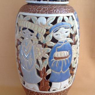 Светильник-фонарь. Керамика. Китай.