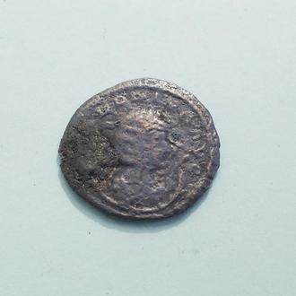 Рим Антониниан Солонина медь покрытая серебром