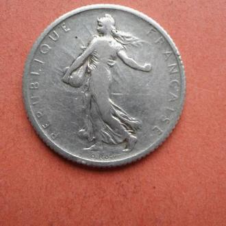 1 франков 1902г Франция