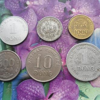 Вьетнам(подборка2) 6шт
