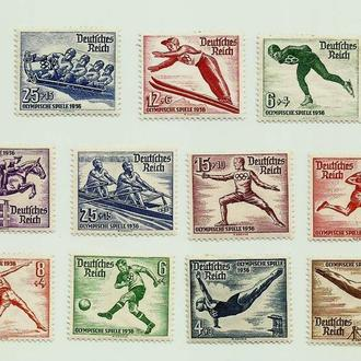 3 рейх.Олимпиада 1936