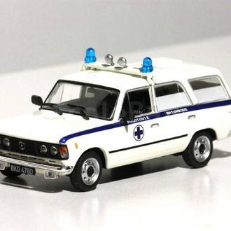 Fiat 125P Sanitarka (DeAgostini Kultowe Auta PRL-u )