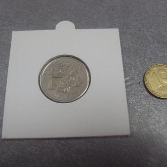 мексика 25 сентавос 1950 серебро №406