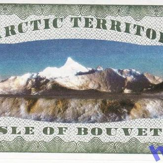Буве остров Isle of Bouvet 2 доллара UNC 2011
