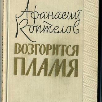книга Возгорится пламя - Афанасий Коптелов