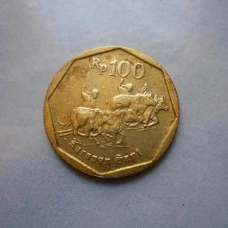 Индонезия 100 рупий 1994