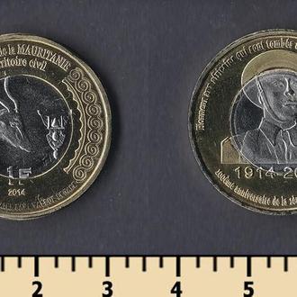 Мавритания 1 франк 2014
