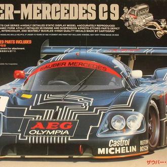 Сборная модель Mercedes C9  Sauber  1988 1:24 Tamiya
