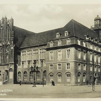 Открытка. Франкфурт-на Одере. 1930-е. (3)