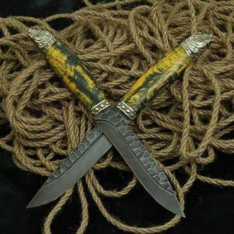 Авторский нож ручной работы «Карп»