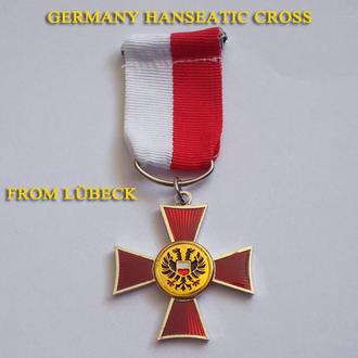 Ганзейский крест Любек