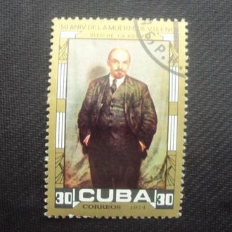 Куба 1974г.гаш.