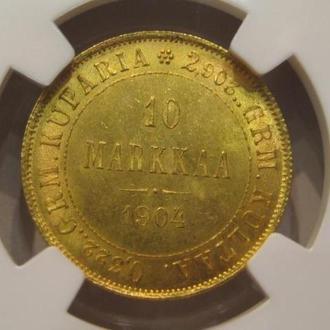 10 МАРОК 1904