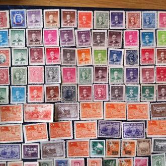 марки китая чистые