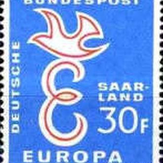 Германия SAARLAND 1959 Европа СЕПТ