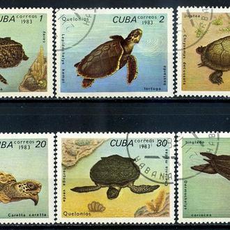 Куба. Черепахи (серия) 1983 г.