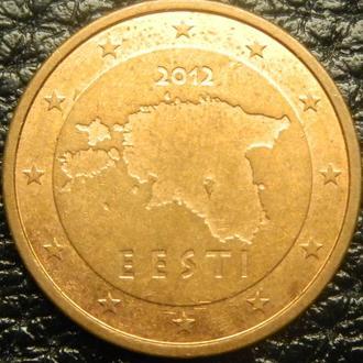 2 євроценти 2012 Естонія