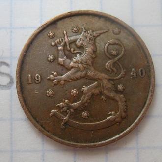 ФИНЛЯНДИЯ, 10 пенни 1940 г.