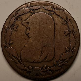 АНГЛИЯ Уэльс 1/2 пенни 1788г