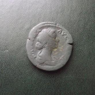 Сестерций Фаустины.Римский чекан.